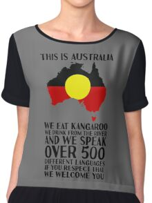 This Is Australia | We Welcome You Chiffon Top