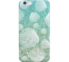 Sea Shells and Clear Water, #redbubble, #abstract, #ocean, #pattern iPhone Case/Skin