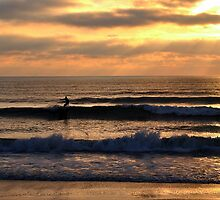 Surf In The Morning II by Sean Brett