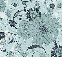 Floral Background by Olga Altunina