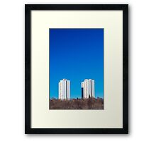 Toronto Apartment Towers Framed Print