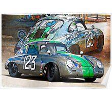1958 Porsche 356A Poster