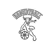 Basketball ball sport Photographic Print