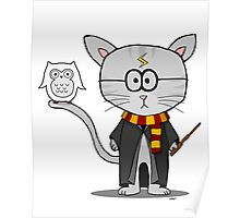 Harry Potter- Gizmo The Cat Poster