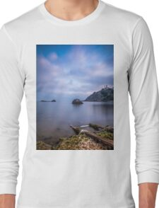 Seascape from a boat dock Long Sleeve T-Shirt
