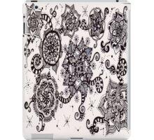 Swirls in Black iPad Case/Skin