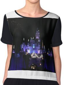 Disneyland Castle Diamond Celebration  Chiffon Top