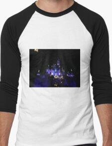 Disneyland Castle Diamond Celebration  Men's Baseball ¾ T-Shirt