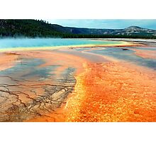 Grand Prismatic Spring Photographic Print