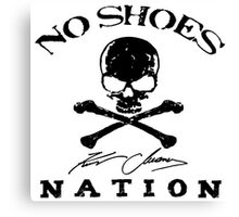 KENNY CHESNEY NO SHOES NATION 2016 Canvas Print