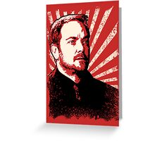 Crowley - King of Hell Greeting Card