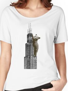 Sears Tower Cub Women's Relaxed Fit T-Shirt