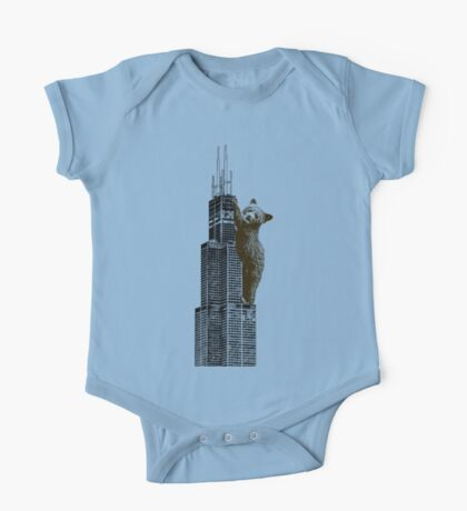 Sears Tower Cub One Piece - Short Sleeve