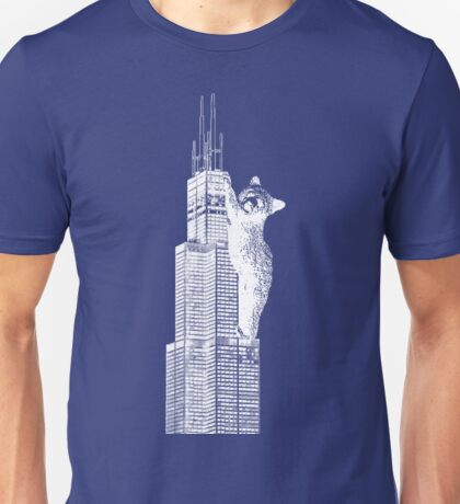 Sears Tower Cub_white Unisex T-Shirt
