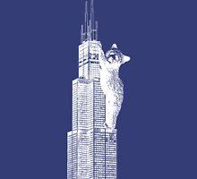 Sears Tower Cub_white Unisex T-Shirt