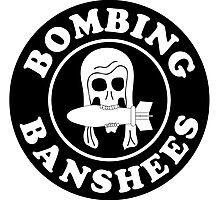VMSB-244 Marine Corps Dive Bomber Sqd - Bombing Banshees - WW2 Photographic Print