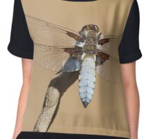 Broad-bodied Chaser Chiffon Top