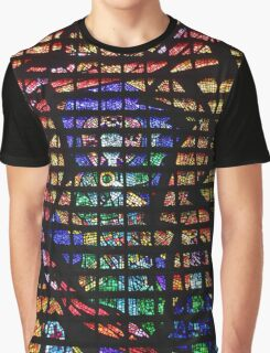 Stained Glass Detail, Rio de Janeiro Graphic T-Shirt