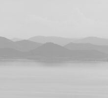 Soft layers, Tuoro sul Trasimeno, Lago Trasimeno, Umbria, Italy by Andrew Jones