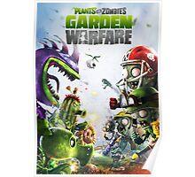 plants vs zombies warfare full Poster