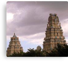 temples (Mauritius) Canvas Print