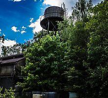 Abandon water tower  by EykensJ
