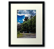Abandon water tower  Framed Print