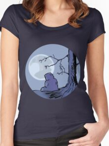 Light of the Moon #1 Women's Fitted Scoop T-Shirt