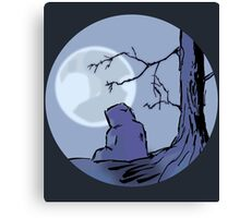 Light of the Moon #1 Canvas Print