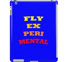 Fly Experimental iPad Case/Skin