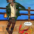 Leo Valdez and Flareon by ChrisNeal