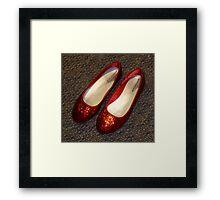 Where's Dorothy? Framed Print