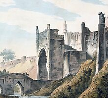 The East End of the Fort of Mongheer by Bridgeman Art Library