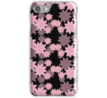 Floral Pattern Japanese Origami Style Pink iPhone Case/Skin