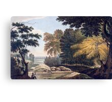 Hill Village in the District of Bauhelepoor Canvas Print