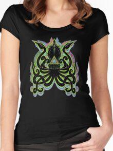 Neon Kraken Women's Fitted Scoop T-Shirt