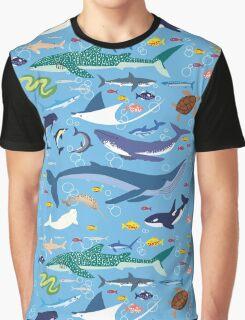 Seananigans - Pattern Graphic T-Shirt