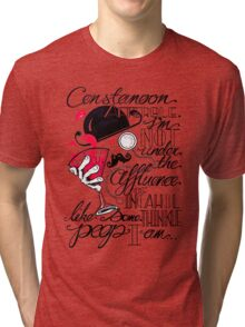 Constanoon Afterble (Red) Tri-blend T-Shirt