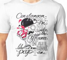 Constanoon Afterble (Red) Unisex T-Shirt
