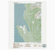 USGS TOPO Map Alaska AK Juneau C-3 NW 353689 1986 25000 One Piece - Short Sleeve