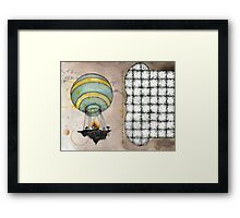 air lift Framed Print