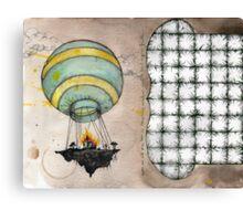 air lift Canvas Print