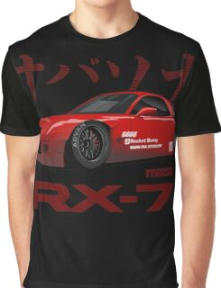 red RX-7 performance Graphic T-Shirt