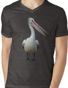 Pelican. Mens V-Neck T-Shirt