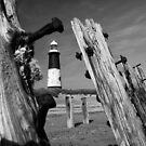Spurn Point Lighthouse by Chris Tait