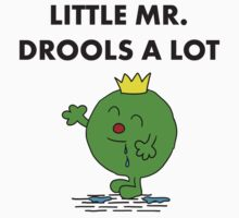 Mr Drools a Lot Kids Tee
