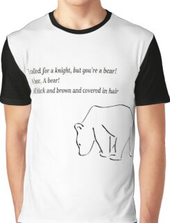 The Bear and the Maiden fair Graphic T-Shirt