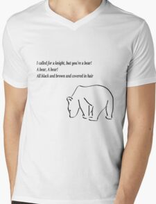 The Bear and the Maiden fair Mens V-Neck T-Shirt