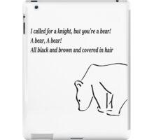 The Bear and the Maiden fair iPad Case/Skin