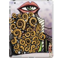 Worms cube iPad Case/Skin